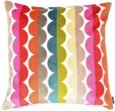 The Piper Collection Grace 22x22 Velvet Pillow, Multi