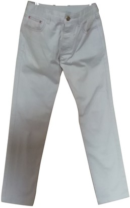JC de CASTELBAJAC White Denim - Jeans Trousers for Women