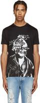 DSQUARED2 Black Punk Chic Dan T-Shirt