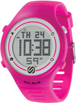 Soleus Sprint Pink Digital Running Watch