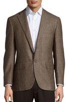 Corneliani Textured Button-Front Sportcoat
