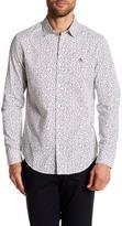 Original Penguin Floral Print Long Sleeve Slim Fit Woven Shirt