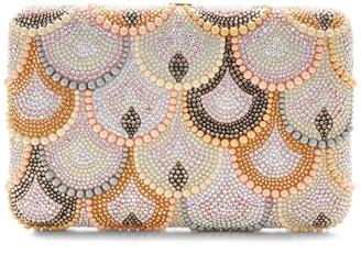 Judith Leiber Scallop Pattern Clutch Bag