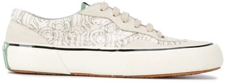 Societe Anonyme Low-Top Suede Panelled Sneakers