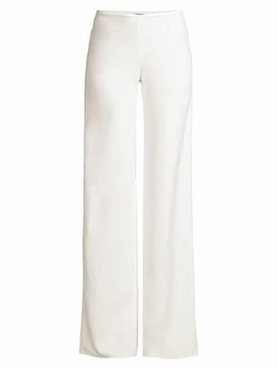 Emporio Armani Cady Crepe Wide-Leg Trousers