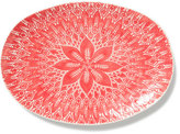 Vietri Viva Red Lace Large Oval Platter