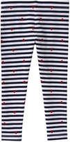 Joe Fresh Toddler Girls' Print Legging, Navy (Size 2)