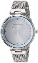 BCBGMAXAZRIA Women's Japanese-Quartz Watch with Stainless-Steel Strap