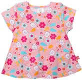 Zutano Friendly Bird Swing Tee (Baby) - Pink-18 Months