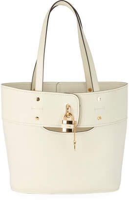 Chloé Aby Small Lock-and-Key Tote Bag