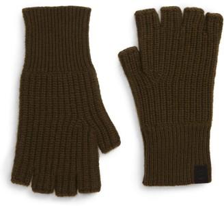 Rag & Bone Ace Fingerless Cashmere Gloves