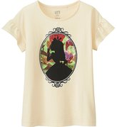 Uniqlo Girls Disney Alice in Wonderland Graphic Tee