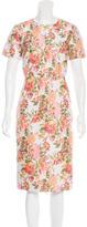 Stella McCartney Embroidered Sheath Dress