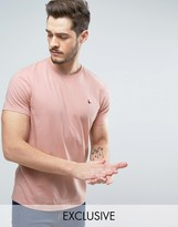 Jack Wills Sandleford T-shirt With Pheasant Logo In Pink