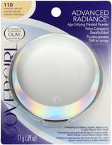 Cover Girl Advanced Radiance Age-Defying Pressed Powder, Creamy Natural 110, 0.39 Ounce Pan by