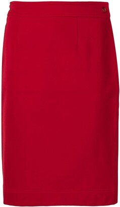 Moschino Pre Owned 1990's Straight Skirt