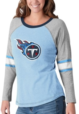 G Iii Sports G-iii Sports Women's Tennessee Titans Long Sleeve Top Pick T-Shirt