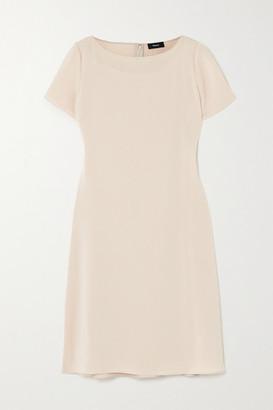 Theory Crepe Mini Dress - Ecru