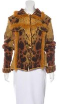 Class Roberto Cavalli Wool-Blend Patterned Jacket