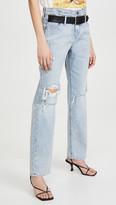 RtA Dexter-Belted Baggy Pants