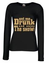 lepni.me N4523M Female long sleeves T-shirt Enjoy The Show!