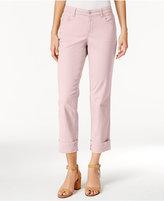 Style&Co. Style & Co Petite Curvy-Fit Capri Jeans, Only at Macy's