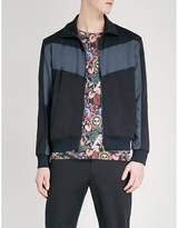 Paul Smith Funnel-neck Cotton-blend Jacket