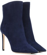 Jimmy Choo Helaine 100 suede ankle boots