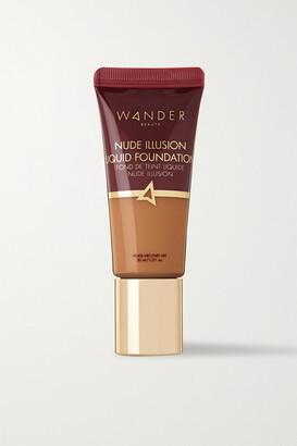 Wander Beauty Nude Illusion Liquid Foundation - Golden Tan