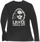 Sarah Women's Big Lebowski Abide Sketch Long Sleeve T-shirt L