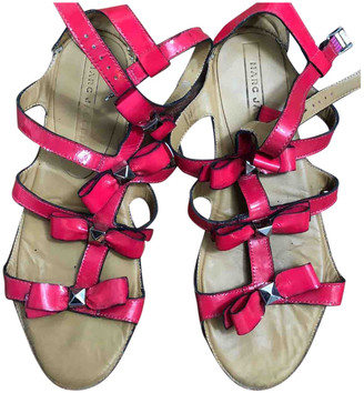 Marc by Marc Jacobs Pink Leather Sandals