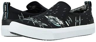 Toms Star Wars TRVL LITE Slip-On (Black Star Wars Space Print) Men's Shoes