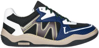 Lanvin Panelled Colour Block Sneakers