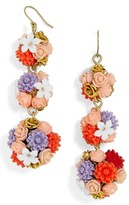 BaubleBar Women's Flora Drop Earrings