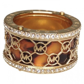 Michael Kors Brown Metal Rings