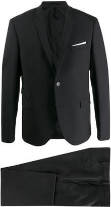 Neil Barrett Travel Fine bi-stretch suit