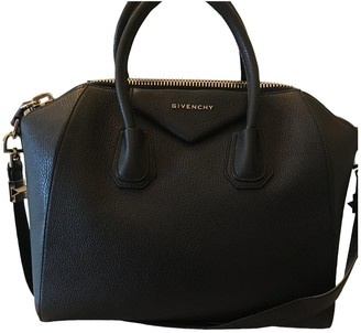 Givenchy Antigona Navy Leather Handbags