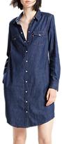 Levi's Iconic Western Dress, Authentic Blue