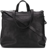 Marsèll grained effect zipped tote bag