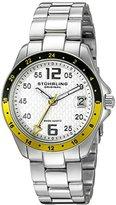 Stuhrling Original Women's 290.12212 Aquadiver Regatta Galleon Swiss Quartz Date Stainless Steel Bracelet Watch