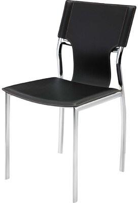 Orren Ellis Ashli Upholstered Dining Chair (Set of 4 Upholstery Color: Gray