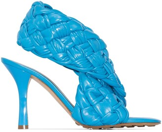 Bottega Veneta Board 90mm woven sandals
