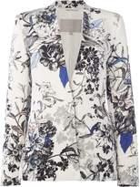 InWear Multifloral collarless blazer