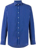 Etro woven stripe shirt - men - Cotton - 39