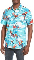 O'Neill Men's Macaw Print Woven Shirt