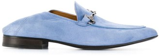 Roberto Cavalli Classic Loafers With Logo Plaque