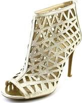 Bar III Abril Women US 7.5 Gold Heels