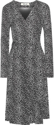 Diane von Furstenberg Elowen Printed Silk-jersey Wrap Dress