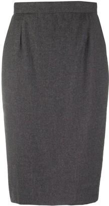 Gianfranco Ferré Pre-Owned 1990s Knee-Length Pencil Skirt