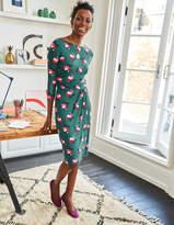 Boden Lottie Ruched Jersey Dress